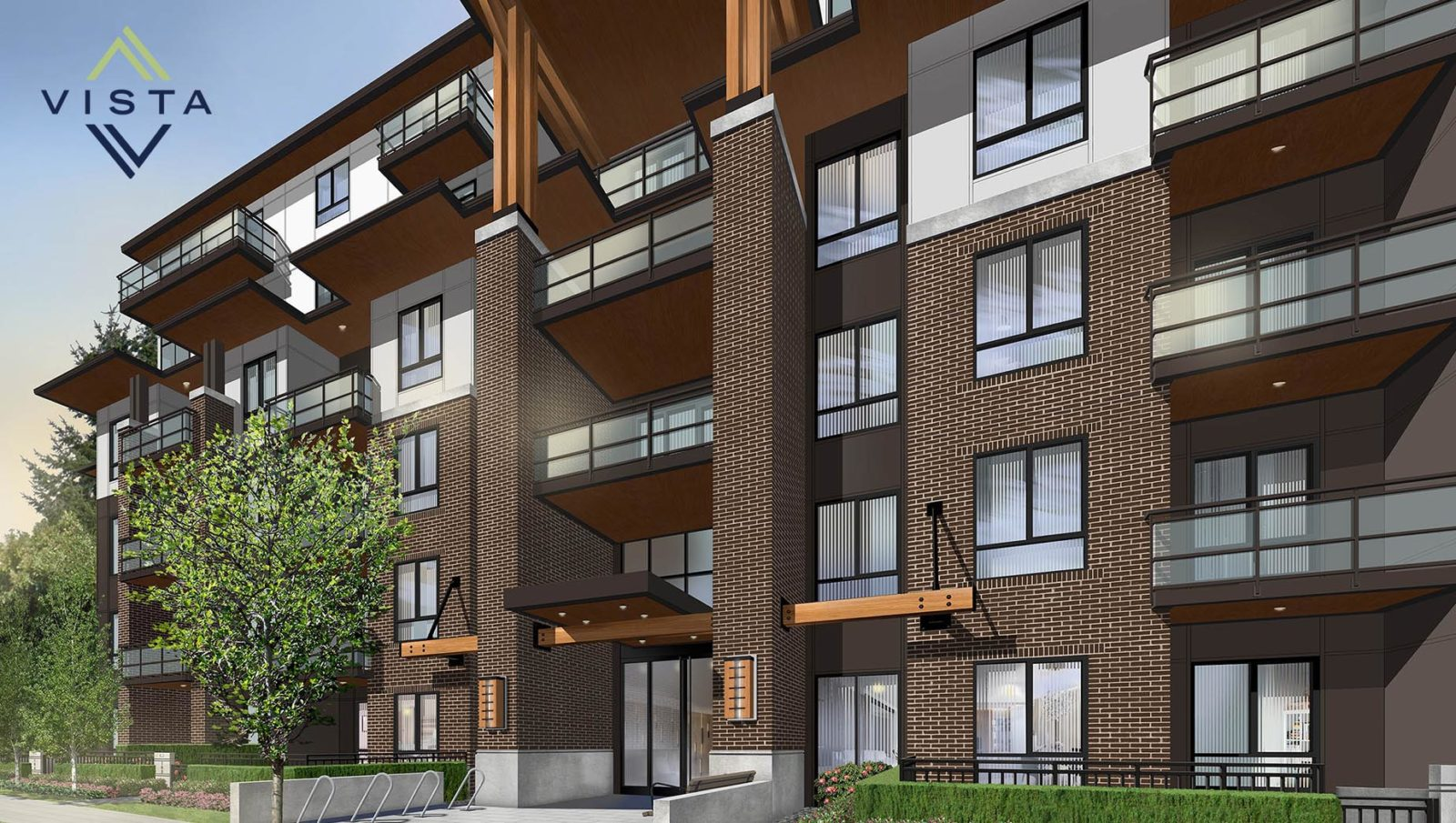 modern transit oriented condos in west Coquitlam